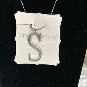 """thirty-one Jewelry - Jk By Thirty-One """"S"""" Initial Silver Necklace"""